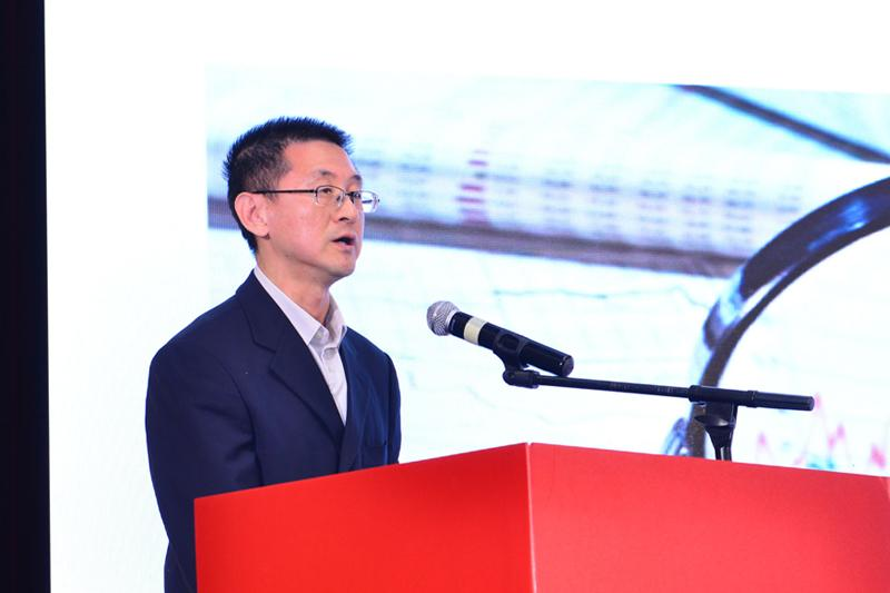 中国支付清算协会技术与标准部主任于沛照片