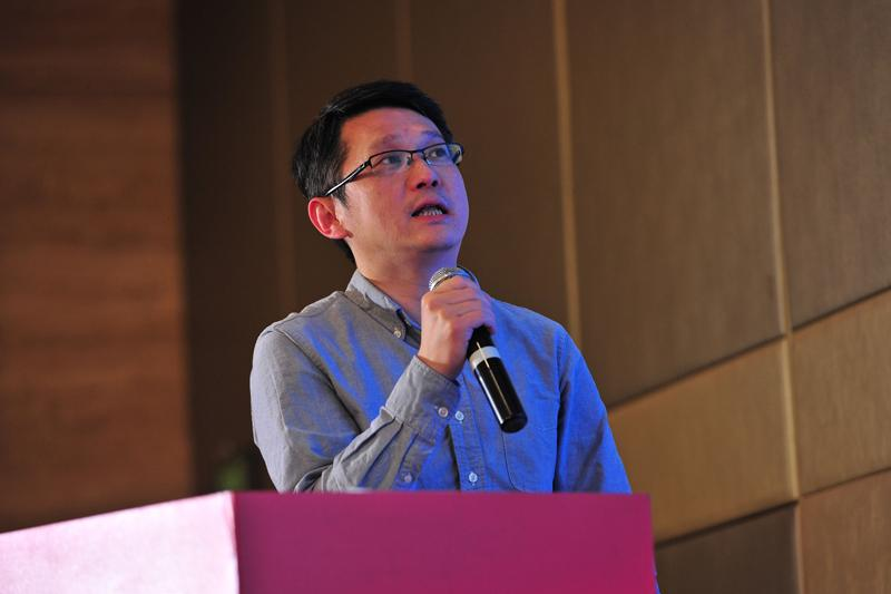 中国交通一卡通技术服务中心总工程师陈宇照片