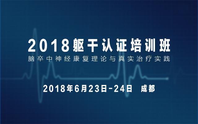 2018脑卒中神经康复理论与真实治疗实践-躯干认证培训班
