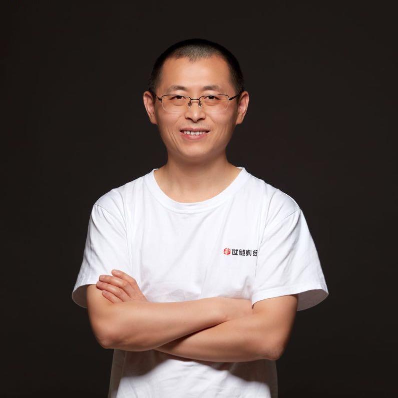 世链财经创始人及CEO,虞笑江照片