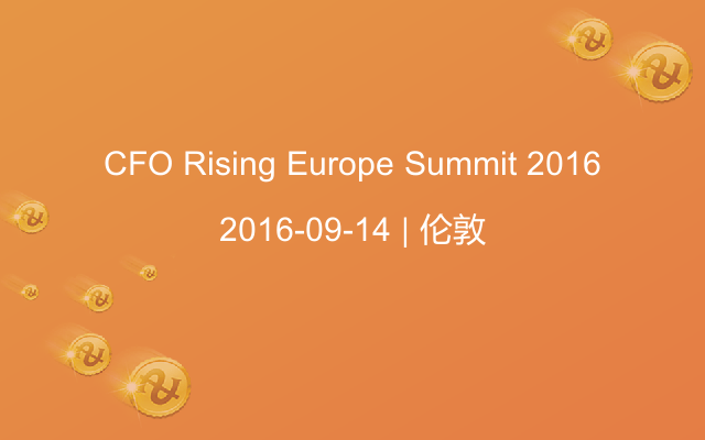 CFO Rising Europe Summit 2016