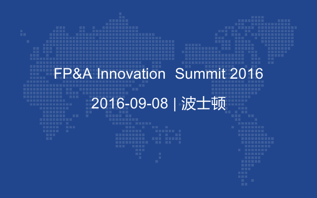 FP&A Innovation  Summit 2016