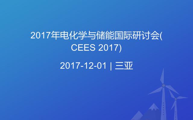 2017年电化学与储能国际研讨会(CEES 2017)