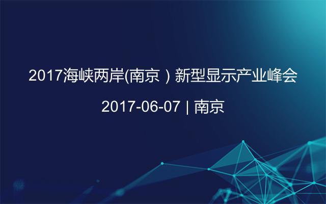 2017海峡两岸(南京)新型显示产业峰会