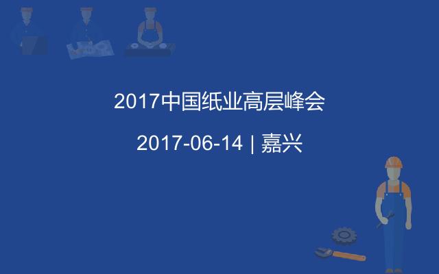 2017中国纸业高层峰会