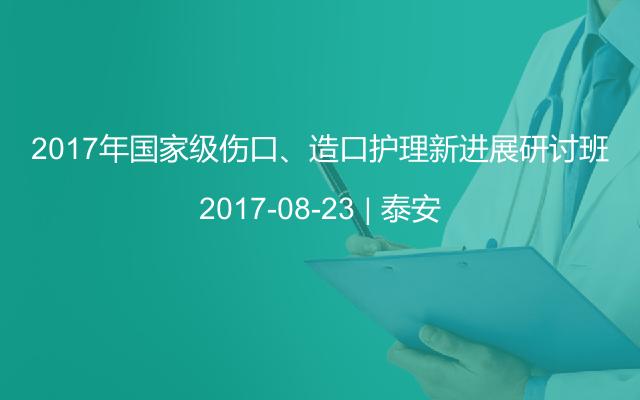 2017年国家级伤口、造口护理新进展研讨班