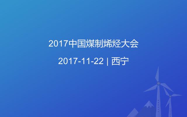 2017中国煤制烯烃大会