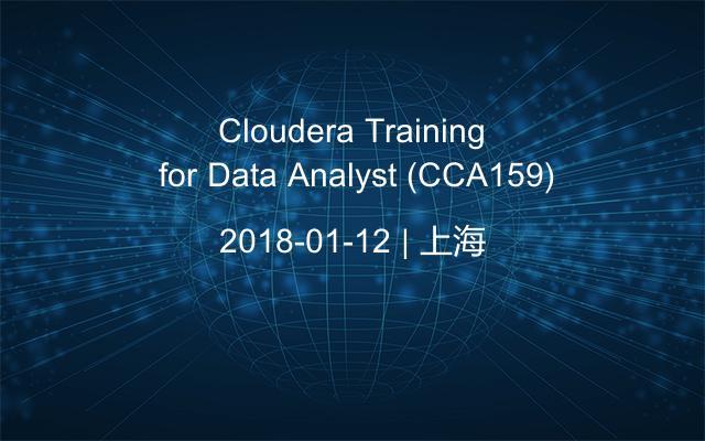 Cloudera Training for Data Analyst (CCA159)