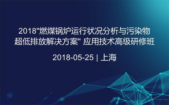 """2018""""燃煤锅炉运行状况分析与污染物超低排放解决方案"""" 应用技术高级研修班"""