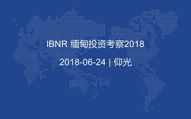 IBNR 缅甸投资考察2018