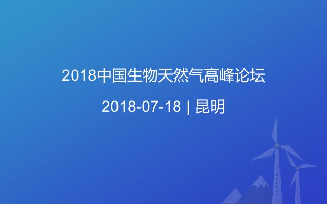 2018中国生物天然气高峰论坛