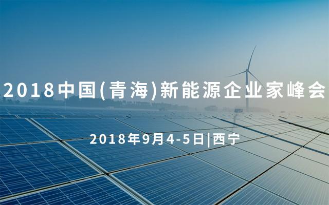 2018(青海)新能源企业家峰会