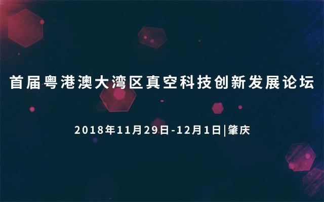 首届粤港澳大湾区真空科技创新发展论坛2018