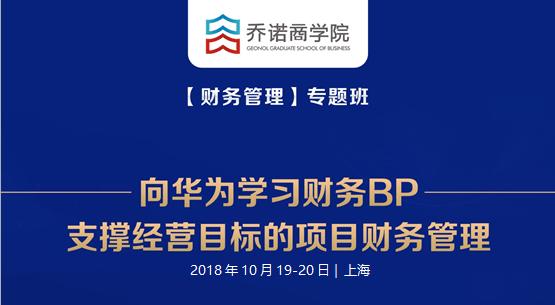 2018向华为学习财务BP-支撑经营目标的项目财务管理