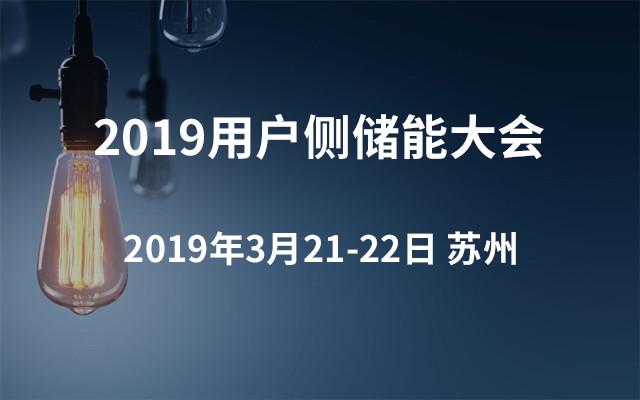 2019用户侧储能大会