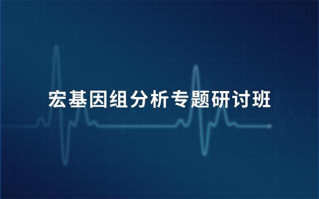 2019宏基因组分析专题研讨班(3月北京班)