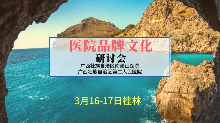 2019移动互联网时代的医院品牌文化研讨会(桂林)