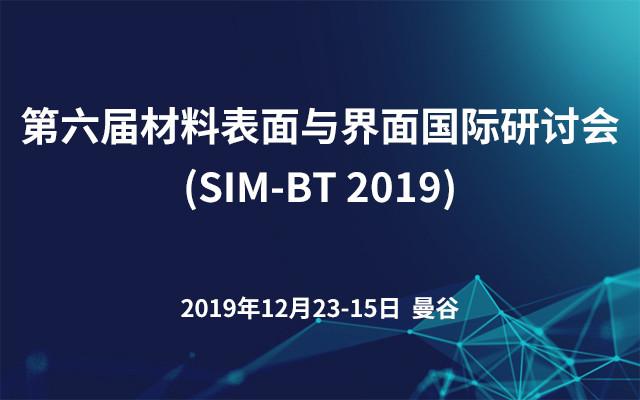第六届材料表面与界面国际研讨会(SIM-BT?2019)