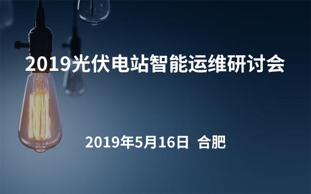 2019光伏电站智能运维研讨会.合肥站