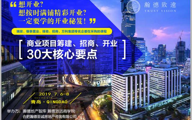 商业项目筹建招商2019(7月培训班)