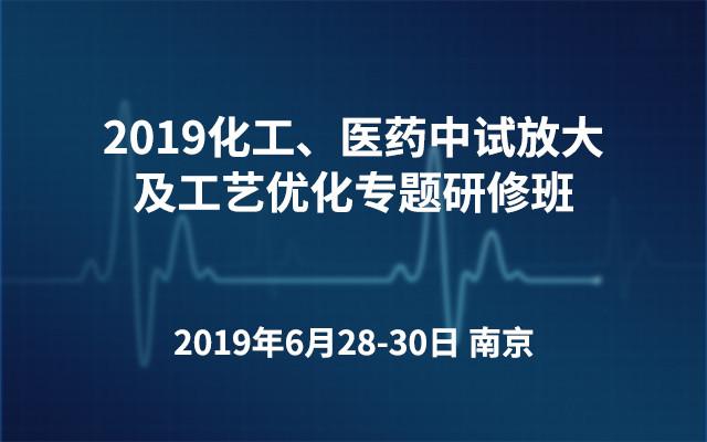 2019化工、医药中试放大及工艺优化专题研修班(南京)