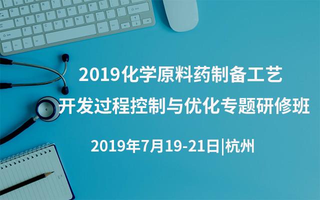 2019化学原料药制备工艺开发过程控制与优化专题研修班(杭州)