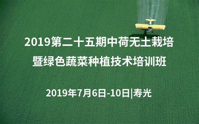 2019第二十五期中荷无土栽培暨绿色蔬菜种植技术培训班(寿光)