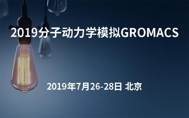 2019分子动力学模拟GROMACS(初级培训班第四期)北京