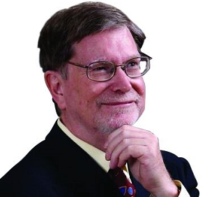 2006年度诺贝尔物理学奖得主、天体物理学家、宇宙学家乔治.斯穆特照片