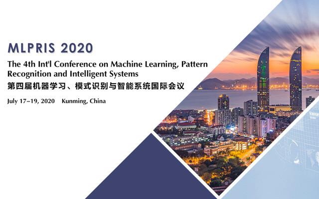 第四屆機器學習、模式識別與智能系統國際會議(MLPRIS 2020)
