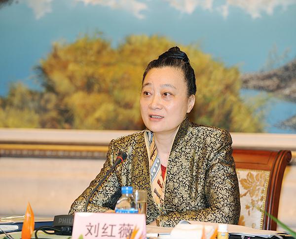中国总会计师协会会长刘红薇照片