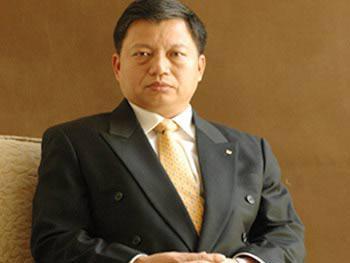 新华人寿保险股份有限公司副总裁陈国钢照片