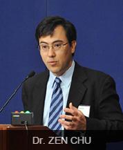 麻省理工医学编程研究院创始人Dr.ZEN CHU照片