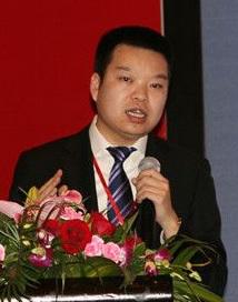警翼数码科技有限公司副总经理崔乘刚照片