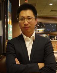 猎豹H5游戏平台负责人袁健博照片