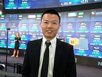 美团战略与投资副总裁陈少晖照片