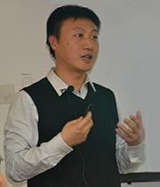 清华大数据产业联合会副秘书长徐斌照片