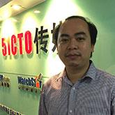 51CTO传媒主编林师授照片
