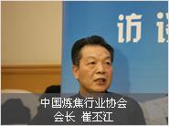 中国炼焦行业协会会长会长崔丕江照片