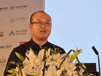 亚朵人文精品酒店创始人兼CEO王海军照片