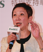 香港电影工作室有限公司总裁施南生照片