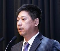 北京长久物流股份有限公司副总裁张振鹏照片