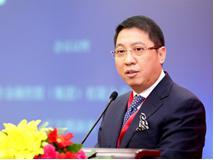 中国联合金融控股(集团)有限公司董事局主席江文填照片