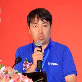 天宝导航中国区销售总监徐刚照片