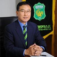 全北现代汽车足球俱乐部社长李哲勤 照片