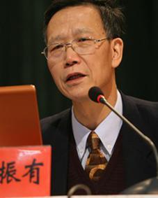 中国教育学会常务副会长、中国教育学会书法教育专业委员会理事长郭振有
