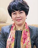 上海来伊份股份有限公司总裁郁瑞芬照片