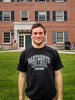 Dartmouth College达特茅斯学院Ian照片