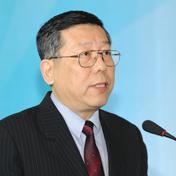 中国信息协会副秘书长傅伯岩照片