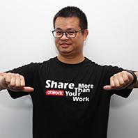爱特众创/中国创始人/CEO姚锦程照片